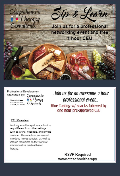 Sip & Learn CTC Event