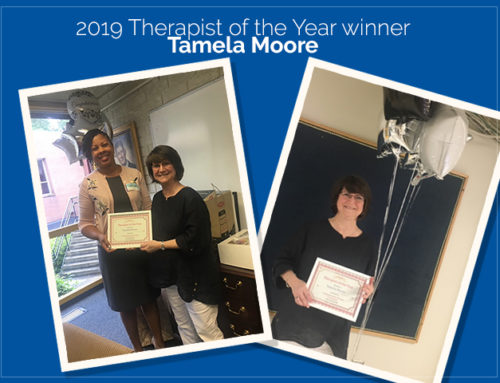 2019 Therapist of the Year winner – Tamela Moore
