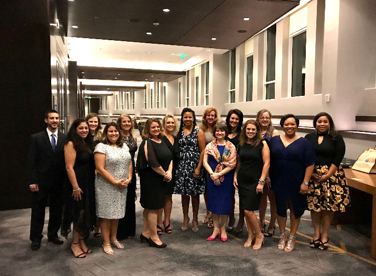 A picture of a few of our staff from the CTC 35th Anniversary Gala, 2019